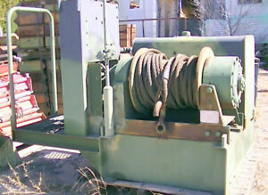 Dp 45 000 Pound Rated 2 Speed Hydraulic Driven Winch Heavy Duty Vehicle Mount Or