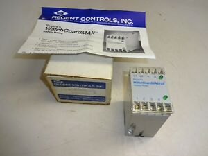 Regent Controls Watchguardmax120 Safety Relay
