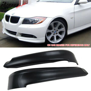 Fits 06 08 Bmw 3 Series E90 Oe Factory Unpainted Pp Front Splitter Lip Spoiler