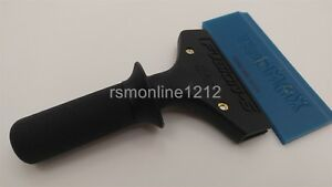 5 Short Fusion Squeegee Handle W Blue Max Squeegee Blade Window Tint Tool