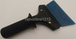 5 Short Fusion Squeegee Handle W Cropped Blue Max Squeegee Blade Tint Tool