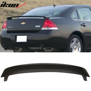 Fits 06 13 Chevy Impala Factory Ss Style Rear Trunk Spoiler Wing Abs