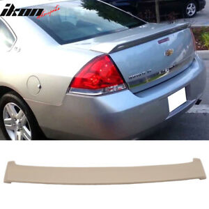 Fits 06 13 Chevrolet Chevy Impala Oe Factory Style Rear Trunk Spoiler Wing Abs