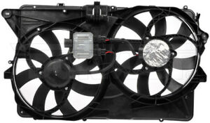 New Engine Radiator Dual Cooling Fan Assembly With Controller Dorman 621 005