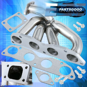 Performance Turbo Exhaust Manifold For 2002 2005 Honda Civic Ep3 K20a T3 t4