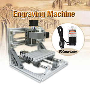 Professional Mill Engraving Machine Router Kit Usb 500mw Laser Pcb Wood Milling