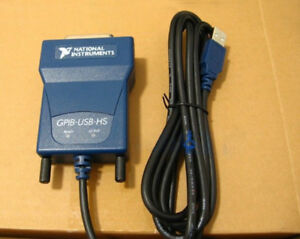 Ni Gpib usb hs Card 778927 01 Usb Gpib Data Acquisition Cable Ieee488