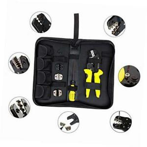 Professional 4 In 1 Wire Crimpers Engineering Ratcheting Terminal Crimping