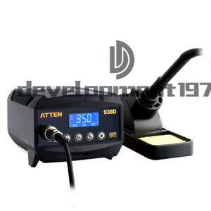 New Atten At938d 60w Digital Soldering Iron Station 150 450 Lcd Display 220v