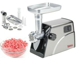Electric Meat Grinder Mincer Sausage Stuffer Stainless Steel Commercial Kitchen