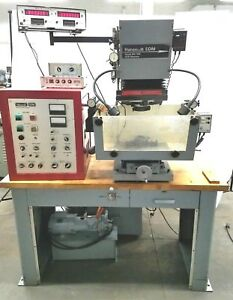 Hansvedt Sm 150b 1500e Edm Benchtop Sinker Ram Electrical Discharge Machining