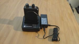 Nice Used Motorola Minitor Model V 5 Pager W Charger Battery Fd Ems Ham 2