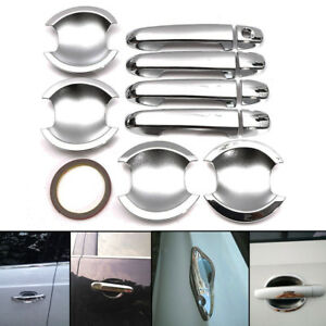 For Toyota Camry 2012 2013 2014 Chrome Door Handle Cover Cup Bowl Trim Decor