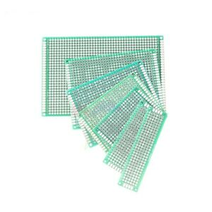 Double Side Printed Circuit Pcb Prototyping Universal Board Fr4 2x8cm 20x30cm