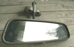 Oem Survivor 1966 Chevrolet Chevy Ii Rear View Guide Glare Proof Mirror Assembly
