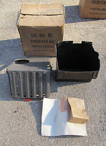Vintage New Old Stock Arvin Fresh flo Heater Kit 1949 Chevrolet Chevy 1950