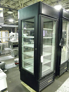 True G4sm 23rl Four Glass Sided Two Door Refrigerated Meat Beverage Deli Display