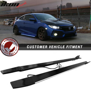 Universal Lighting Side Skirts Extension 77 5 Inches Type 2 Aluminum