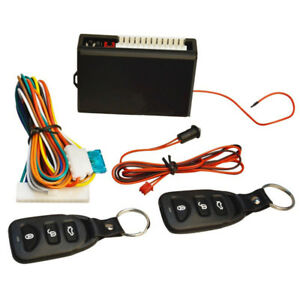 Car Keyless Entry System Vehicle Remote Controls Key Central Door Locking Kit