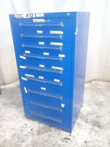 Equipto Tool Cabinet 9 Drawers 02180180029