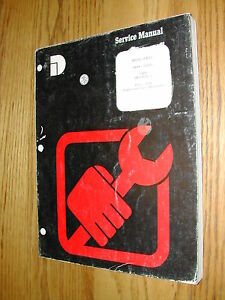Dresser International H 400c Payloader Service Shop Repair Manual Wheel Loader