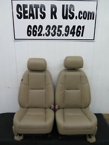 2007 2008 2009 Chevy Silverado Tahoe Suburban Ltz Tan Ft Leather Seats