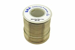 Sra Soldering Products Wbcc96462 Lead Free No clean Flux Core Silver Solder