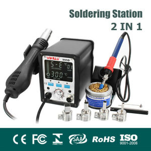 110v 220v Soldering Station Digital Lcd Soldering Iron Motherboard Repair Tool