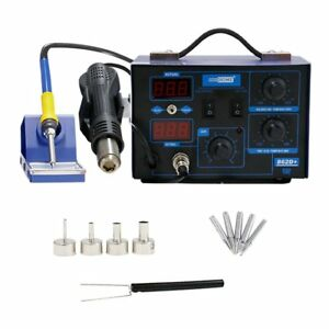 Vivohome 2 In 1 110v 862d Smd Soldering Iron Hot Air Rework Heat Gun Solder With