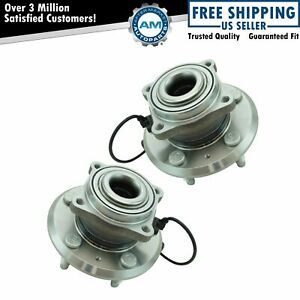2 Rear Wheel Bearing Hub 2010 2017 Chevy Equinox Gmc Terrain 2 4l 3 6l Pair