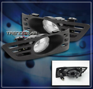 For 2003 2004 2005 Honda Accord Coupe 2dr Front Bumper Fog Light Lamp Chrome New