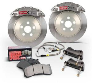 Stoptech Rear Big Brake Kit Trophy Calipers Slotted Rotors For 06 09 Bmw M5 M6