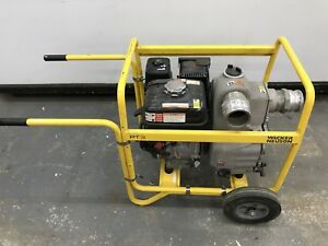 Used Used 3 trash Pump Wacker Neuson Pt3 Trash Dewatering Centrifugal Water Pump