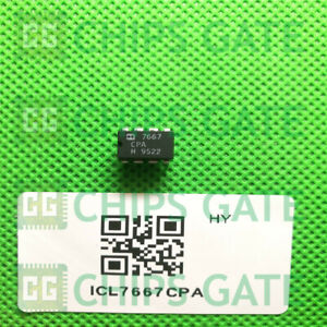 7pcs Icl7667cpa Encapsulation dip 8 dual Power Mosfet Driver