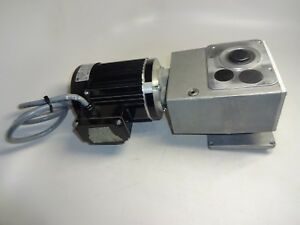 Rexroth 48y6bfpp Motor With Rexroth 3 842 519 002 Gear Box