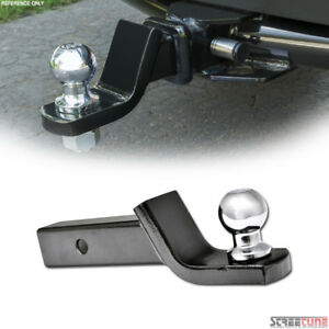 1 7 8 Loaded Ball Mount W trailer Ball hitch Pin Clip For 2 Tow Receiver S10