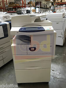 Xerox Workcentre 4250 A4 Mono Laser Printer Copier Scan Fax Finisher 45 Ppm 50k