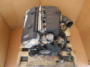 2003 Bmw M3 E46 1040 3 2l S54 Complete Engine Motor compression Tested