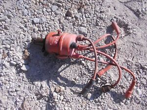 Case Vao Tractor Engine Motor Distributor Drive Assembly Coil
