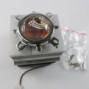 20 100w Led Aluminium Heat Sink Cooling Fan 44mm Lens Reflector Bracket Kit