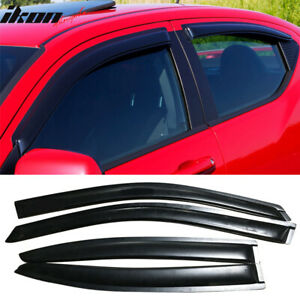 Fits 08 14 Dodge Avenger Acrylic Window Visors 4pc Set
