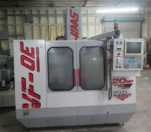 Haas Vf 0e Cnc Vertical Machining Center 1999 4th Axis Ready Vmc W Tooling Nice