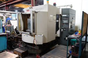 Used Toyoda 450 Cnc Horizontal Mill 1996 Fanuc 12000rpm 60 Tools Tsc Chip