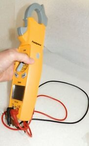 Swivel Head Clamp Meter With Leads Lite Use Fieldpiece Sc620 no Carry Case