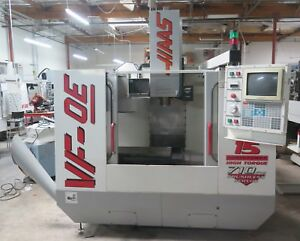 Haas Vf 0e Cnc Vertical Machining Center 1997 Vmc W Tooling Very Clean Machine