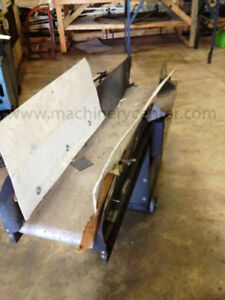 12 W X 58 L 24 H Used Flat Belt Conveyor