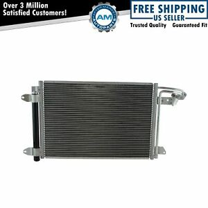 Air Conditioning A c Ac Condenser With Receiver Drier For Audi Volkswagen New