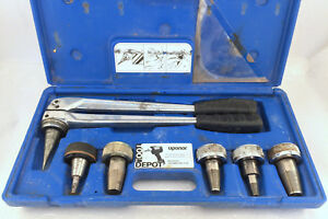 Uponor Hand Expander Tool With Heads And Carry Case