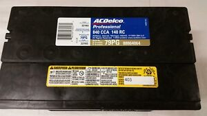 Ac delco Professional Series Battery 79pg 88864064 Cca840