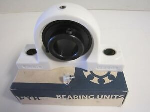 New Fyi Pillow Block Bearing 1 1 4 Black Oxide Thermo Plastic Bolt Size 1 2